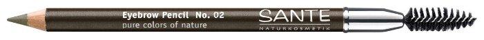 Sante Naturkosmetik карандаш для бровей Eyebrow Pencil