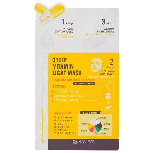 Noblesse тканевая маска трехфазная с витаминами, 27 г