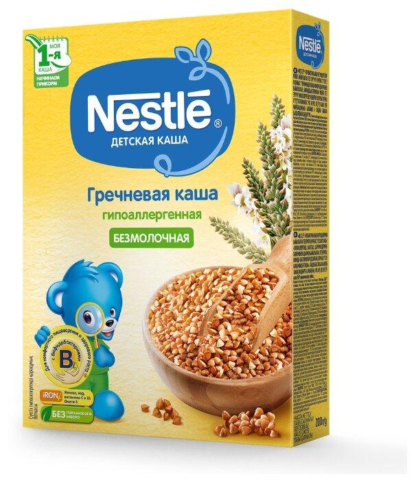 Каша Nestlé безмолочная гречневая гипоаллергенная (с 4 месяцев) 200 г