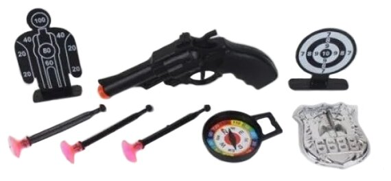 Игровой набор Наша игрушка Полиция 6089-2