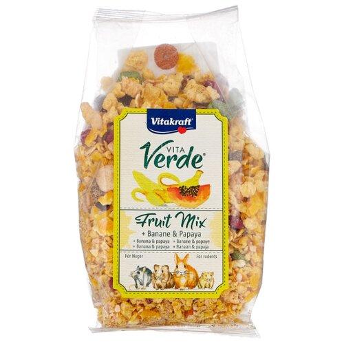 Лакомство для кроликов, грызунов Vitakraft Vita Verde Fruit mix папайя и банан 200 г
