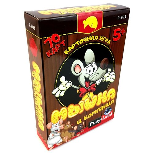 Купить Настольная игра Play Land Мышка и компания R-803, Настольные игры