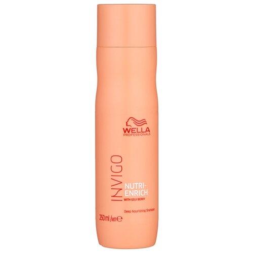 Wella Professionals шампунь Invigo Nutri-Enrich ультрапитательный 250 мл wella professionals enrich bouncy foam