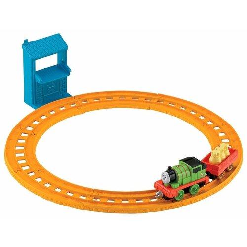 Купить Fisher-Price Стартовый набор Перси доставляет почту , серия Collectible Railway, BHR93, Наборы, локомотивы, вагоны