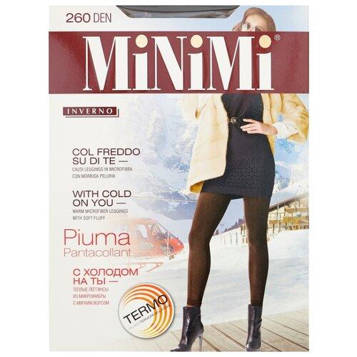 Леггинсы MiNiMi Pantacollant Piuma 260 den, размер 6-XXL, nero (черный) filodoro deluxe pantacollant леггинсы цвет nero размер s m