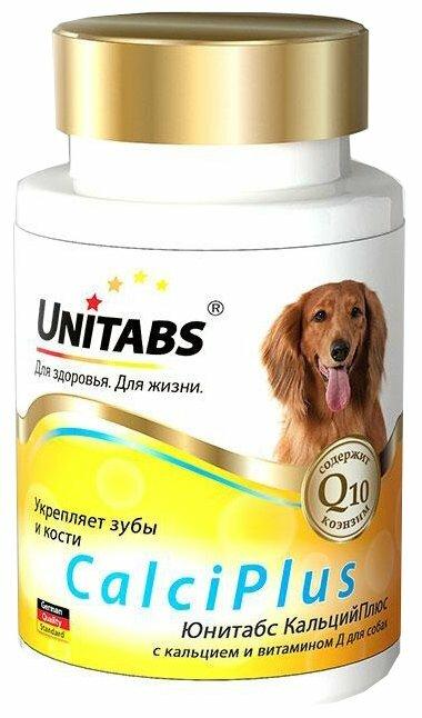 Добавка в корм Unitabs CalciPlus с кальцием и витамином Д 100 шт.