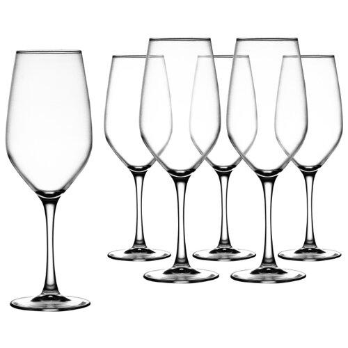 Luminarc Набор бокалов для вина Celeste 580 мл 6 шт L5833 набор бокалов для вина luminarc celeste shiny graphite 350 мл 6 предметов