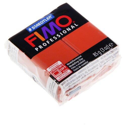 Купить Полимерная глина FIMO Professional запекаемая 85 г терракота (8004-74), Глина