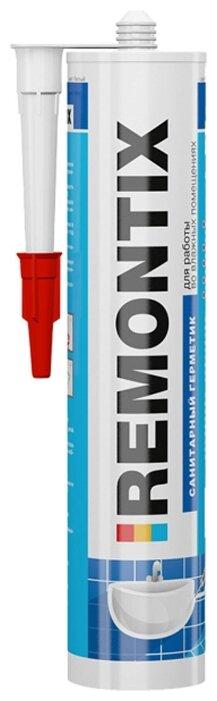 Герметик REMONTIX санитарный 310 мл.