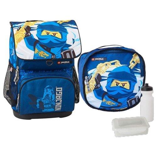 Купить LEGO рюкзак Optimo Ninjago Jay Lightning 4в1, синий, Рюкзаки, ранцы