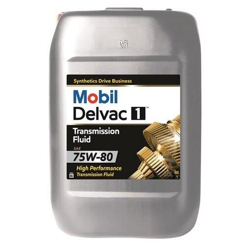 Трансмиссионное масло MOBIL Delvac 1 Transmission Fluid 75W-80 20 л
