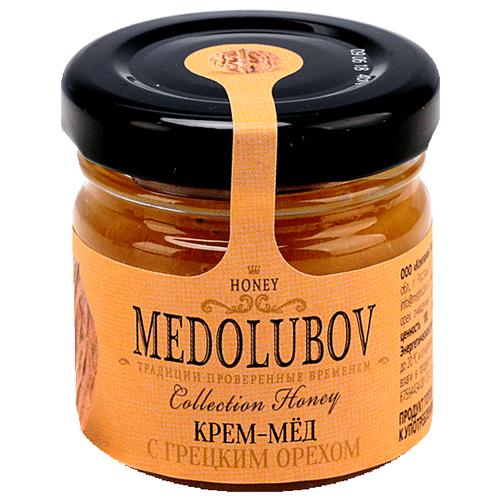 Крем-мед Medolubov с грецким орехом 40 мл