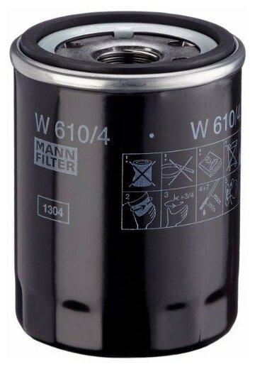 Масляный фильтр MANNFILTER W610/4