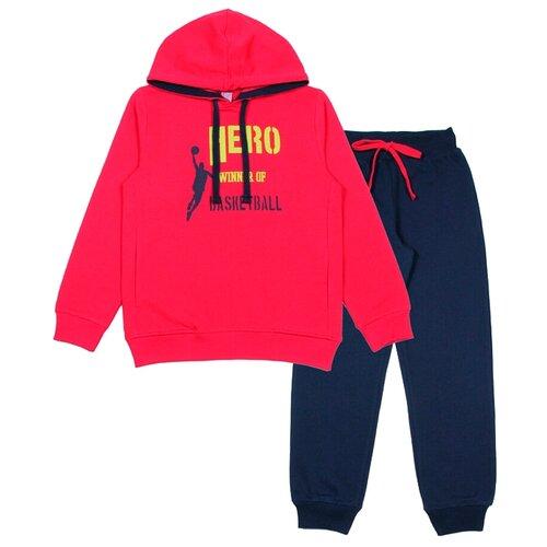 Комплект одежды cherubino размер (146)-76, красныйКомплекты и форма<br>