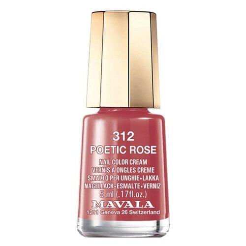 Фото - Лак Mavala Nail Color Cream, 5 мл, 312 Poetic Rose лак для ногтей nail color cream 5мл 312 poetic rose