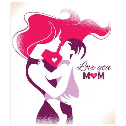 Открытка ND Play Love You Mom (273832), 1 шт. открытка nd play happy birthday 273797 1 шт