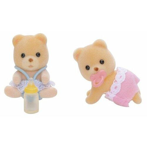 Купить Игровой набор Sylvanian Families Мишки-двойняшки 3243/5086, Игровые наборы и фигурки