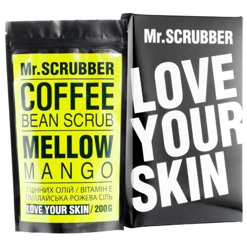 Mr. SCRUBBER Кофейный скраб для тела Mellow mango 200 г frank body скраб для тела кофейный скраб для тела кофейный