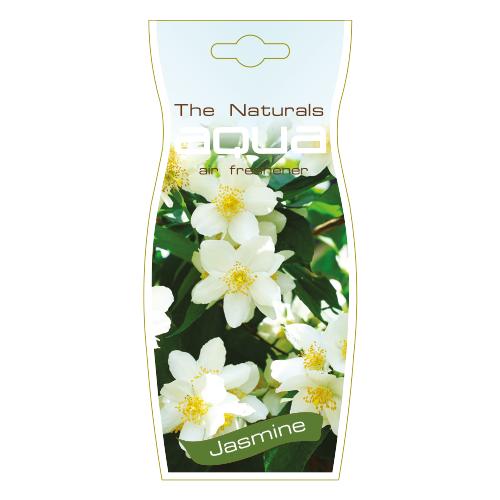 Aqua Ароматизатор для автомобиля Naturals Flower Drop Jasmine 12 г