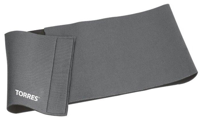 Пояс для коррекции фигуры Torres широкий BL6002, серый, -, неопрен