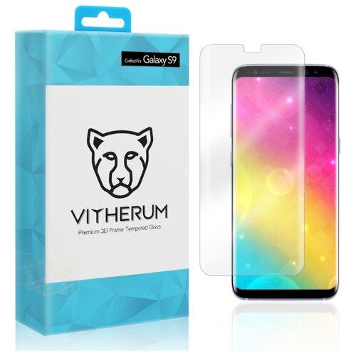 Купить Защитное стекло Vitherum AQUA Premium 3D Curved Full Transparent Tempered Glass для Samsung Galaxy S9 прозрачный