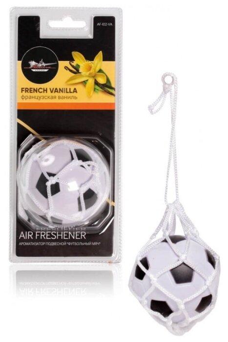 Airline Ароматизатор для автомобиля Футбольный мяч AF-I02-VA, Французская ваниль 30 г