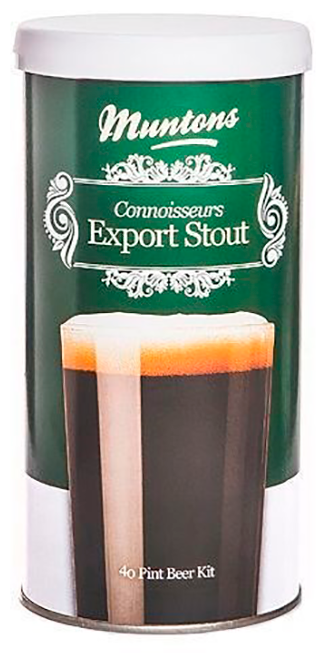 Пивная смесь MUNTONS Export Stout 1,8 кг