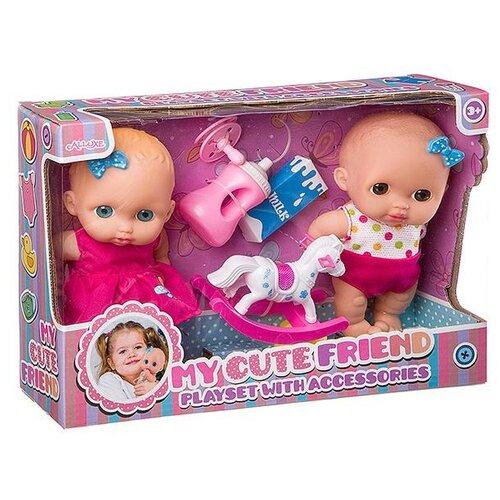 Купить Набор кукол Shantou Gepai 170823/Д93661, Куклы и пупсы