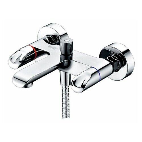Душевой набор (гарнитур) WasserKRAFT Lossa 1201 хром смеситель для ванны и душа wasserkraft lossa 1201 9061227