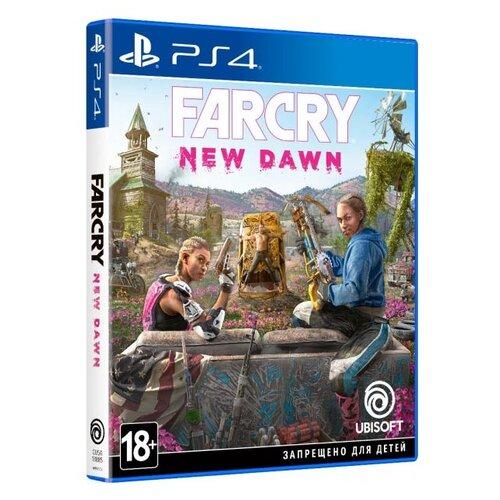 Игра для PlayStation 4 Far Cry New Dawn полностью на русском языке