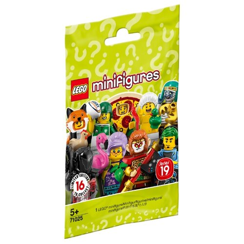 Конструктор LEGO Collectable Minifigures 71025 Серия 19 lego minifigures 71025 конструктор лего минифигурки lego® серия 19