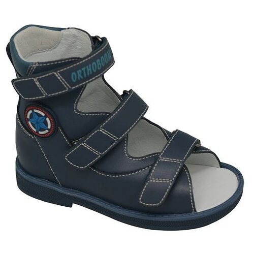 Сандалии Orthoboom размер 24, темно-синий ботинки orthoboom orthoboom or016abcybt4