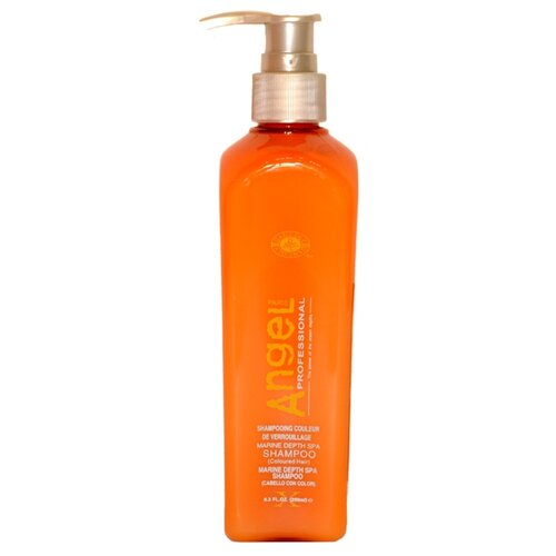 Купить Angel Professional шампунь Marine Depth Spa для окрашенных волос 250 мл с дозатором