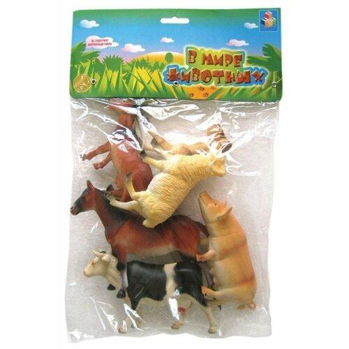 Купить Игровой набор 1 TOY В мире животных Животные с фермы T50554, Игровые наборы и фигурки