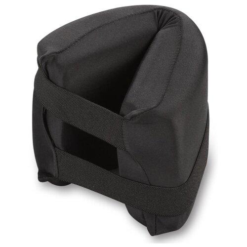Подушка для йоги Indigo SM-358 черный нить для крепления ленты indigo in140 черный