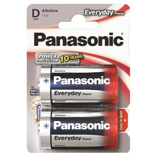 Батарейка Panasonic Everyday Power D/LR20 2 шт блистер