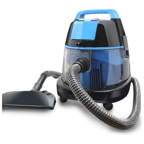 Фото - Пылесос Ginzzu VS731, синий/черный пылесос ginzzu vs420 черный синий
