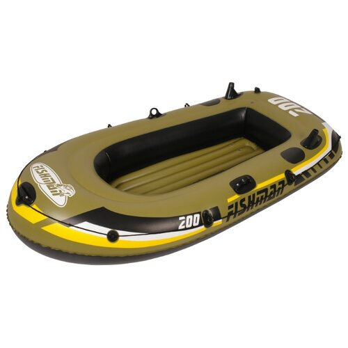 Надувная лодка Jilong Fishman 200set JL007207-1N зелено-черный