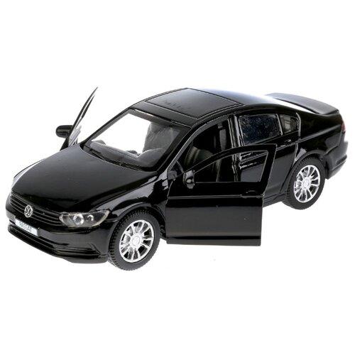 Легковой автомобиль ТЕХНОПАРК Volkswagen Passat (PASSAT-SL/WT/BK) 1:36 12 см черный легковой автомобиль технопарк электокар x600 h09225 r 10 см черный белый