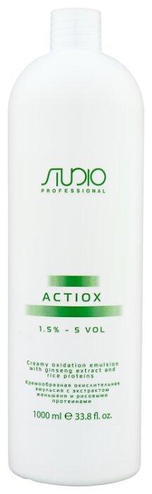Kapous Professional Studio Professional ActiOx Кремообразная окислительная эмульсия с экстрактом женьшеня и рисовыми протеинами, 1.5%
