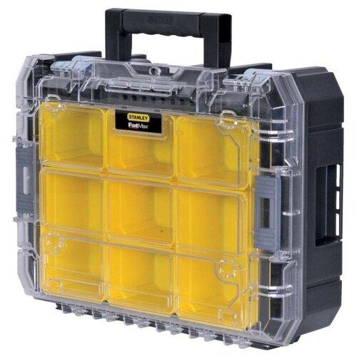 Органайзер STANLEY FMST1-71970 43.9x34.6x14.4 см черный/желтый органайзер stanley 1 97 519 44 6x35 7x7 4 см желтый черный