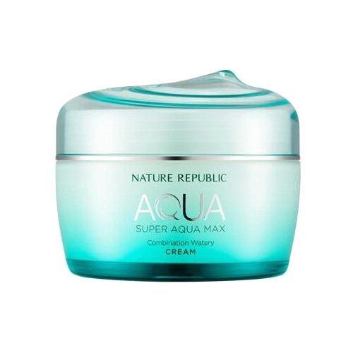 NATURE REPUBLIC AQUA Super Aqua Max Combination Watery Cream Крем для лица увлажняющий, 80 мл косметика super aqua