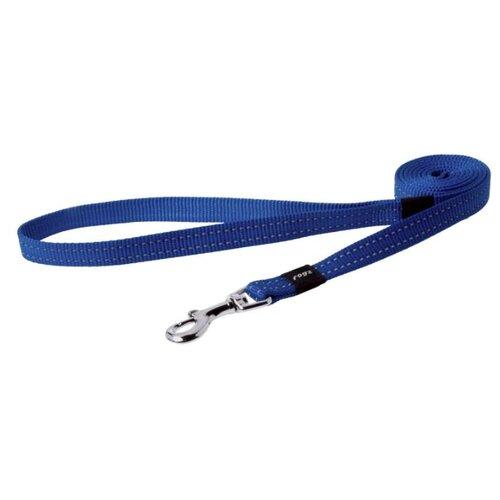 Поводок для собак Rogz Utility Snake M blauw 1.4 м 16 мм