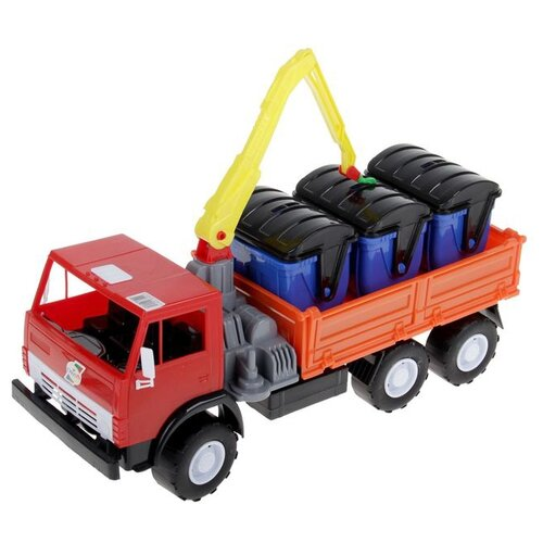 Купить Грузовик Orion Toys Х3 с манипулятором (280) 40 см, Машинки и техника