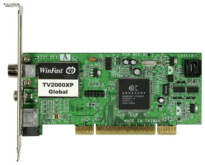 TV-тюнер Leadtek WinFast TV2000 XP RM