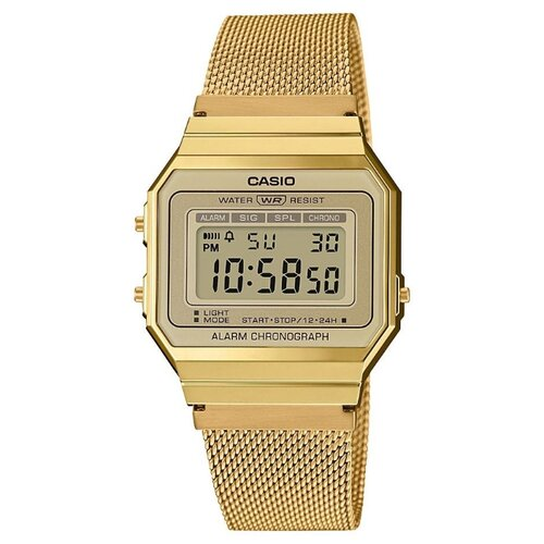 Наручные часы CASIO A700WEMG-9A casio часы casio mtp e303sg 9a коллекция analog