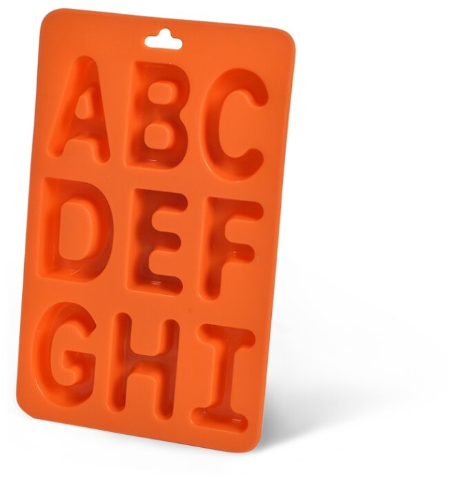 Форма для льда Fissman Буквы английского алфавита от A до I