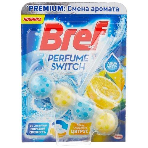 Bref туалетный блок Perfume Switch Морская свежесть - Цитрус 0.05 кг 1 шт.