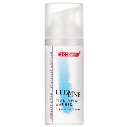 Litaline гель-крем для век 15 мл крем для век 15 мл i c lab individual cosmetic крем для век 15 мл