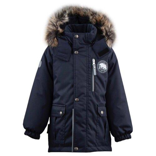 Купить Парка KERRY Snow K19441 размер 110, 987 темно-синий, Куртки и пуховики